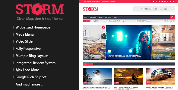 Sense - Responsive Blog Magazine and News Theme - 26
